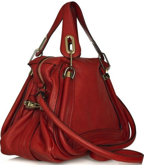 lovely red handbag
