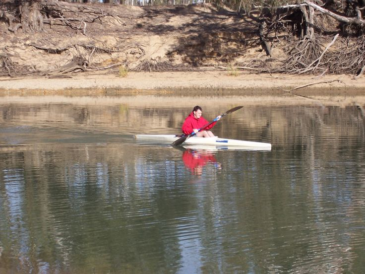 Paddling on the Murray