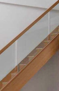 Best Vision Glass Stair Panels Recessed Oak Handrails Stair 400 x 300