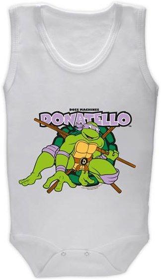 Ninja Kaplumbağalar - Donatello Kendin Tasarla - Bebek Zıbın