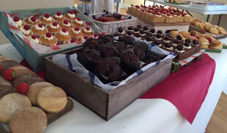 Pre-Prep sports day cakes looking good - Bromsgrove School #holroydhowe