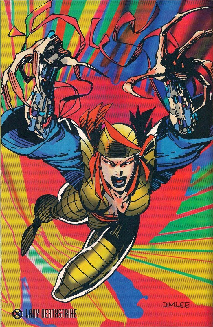 Lady Deathstrike by Jim Lee