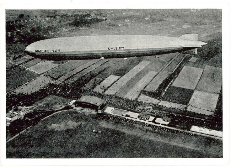 Zeppelin nad Gliwicami, 1924