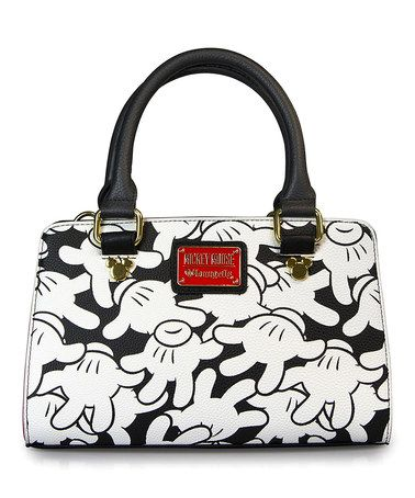 Mickey Mouse Hands All Over Crossbody Bag by Mickey Mouse