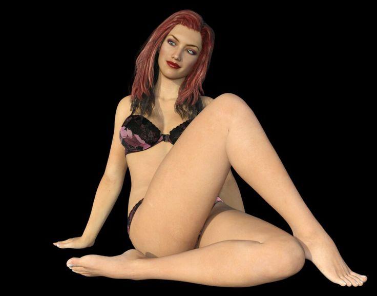 Daz3d girl