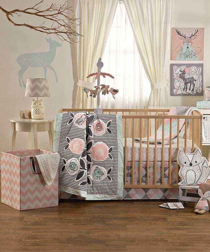 Look at this #zulilyfind! Lolli Living Four-Piece Sparrow Crib Set by Lolli Living #zulilyfinds