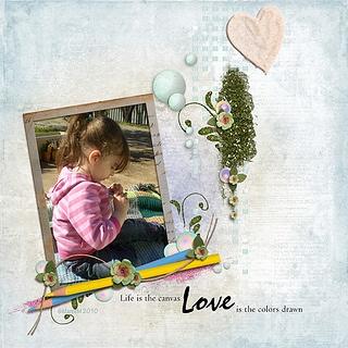 Loves canvas -©Maree Mulreany 2010-2013