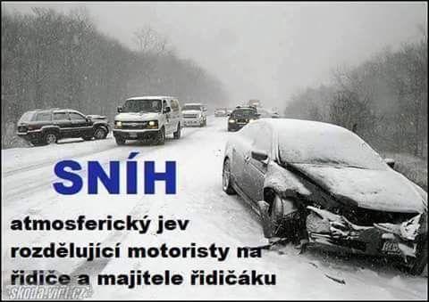 Sníh – atmosferický jev