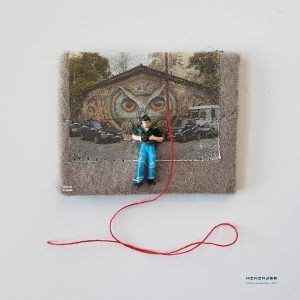 A city without art is just MWAH  minimass® TINY ART by Anne-Marie Ros .nl #16 is available - makes a great gift or just spoil yourself ;)