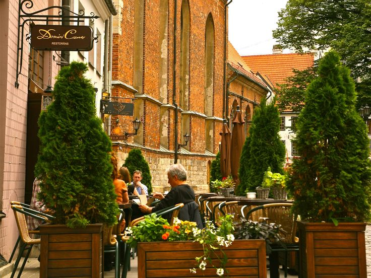 Restaurant Domini Canes : One of the best restaurants in 3Riga with Summer Terrace