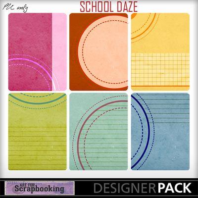 School Daze Journals