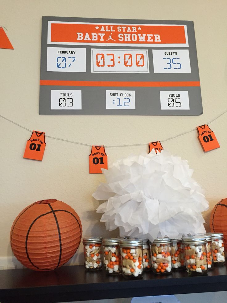 25 Best Ideas About Basketball Baby Shower On Pinterest