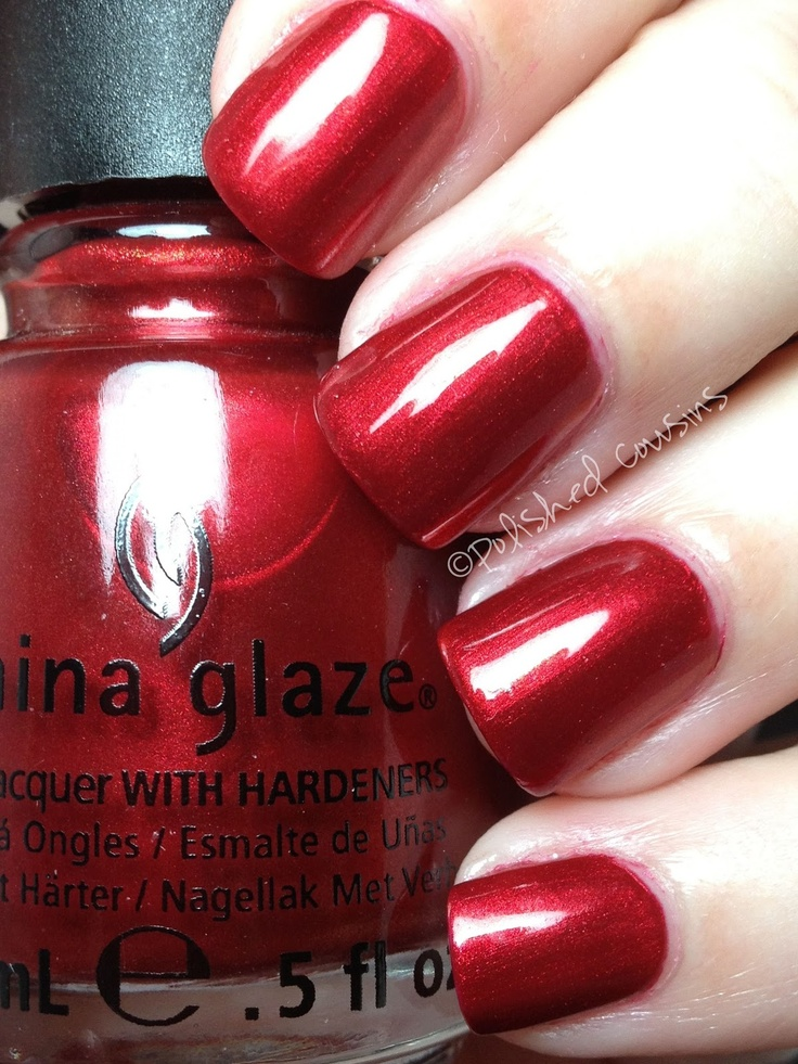 china glaze cranberry splash me pinterest