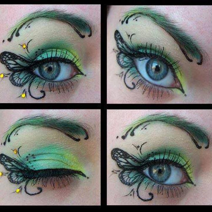 Best 25+ Tinkerbell makeup ideas on Pinterest | Green eyeshadow ...