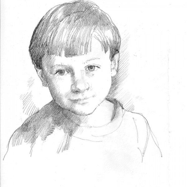 Anthony Morris 'A Drawing Of A Boy'