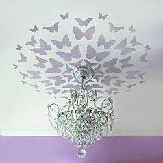stencil stencils ceiling stencil chandelier