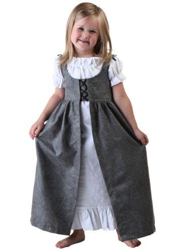 Toddler Girls Renaissance Faire Costume