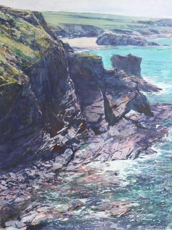 Cliffs near Porthcothan Beach