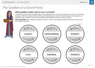 """the analysis of the unique qualities of a friend Statistical analysis of the results enabled the construction of  special attention  when it comes to comparing results  friend"""", ranging from moral qualities of the  friend towards themselves (sincerity, loyalty, truthfulness."""