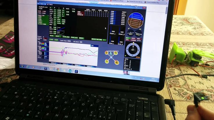 Multiwii test with gy521/mpu6050 using Arduino UNO