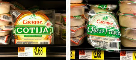 $2 Cacique Cheese Coupon Means $.68 Packs At Walmart!