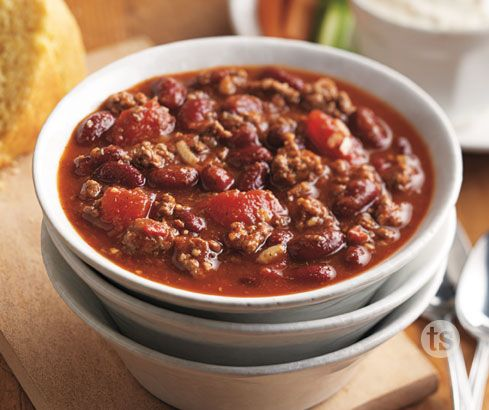 Family-Friendly Chili - Chili ready in 40 minutes - perfect for those busy weeknights.