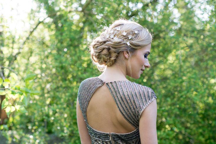 Wedding updo  Photo: Emine Lundsten