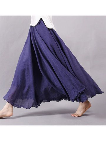Gracila Layered Irregular Loose Short Sleeve O-neck Maxi Dress For Women Shopping Online - NewChic Mobile.