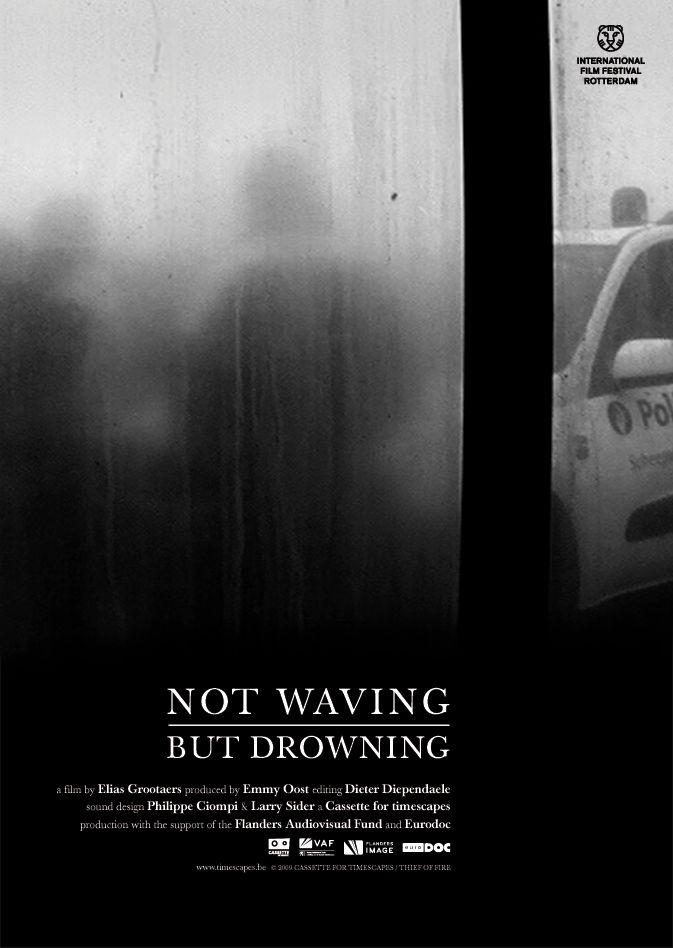NOT WAVING BUT DROWNING AFFICHE  Buro Fritz • Grafisch ontwerp