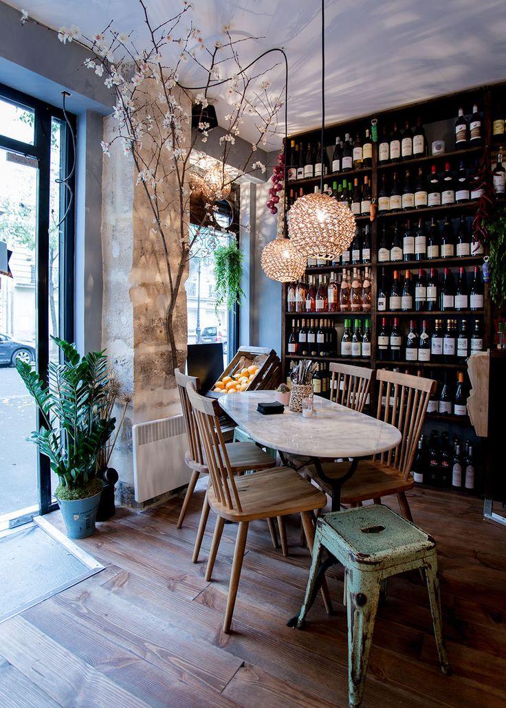 La cave à vin du Haut Marais | MilK decoration
