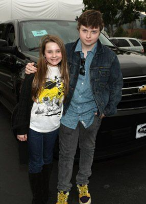 So... these two are brother and sister. What???  Spencer Breslin and Abigail Breslin.
