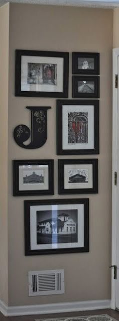 We could all have our own little cluster of frames on the wall.