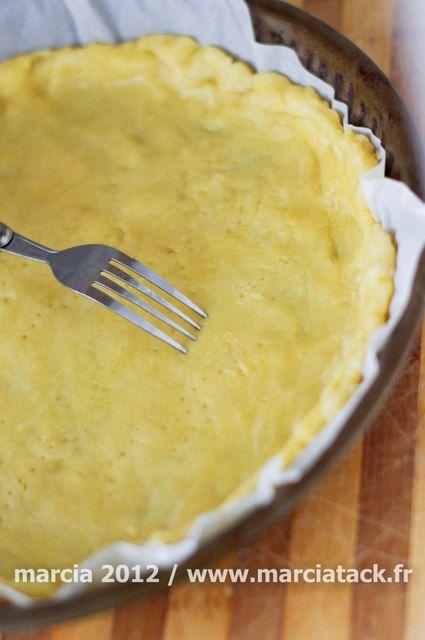 Pâte à tarte sans pétrissage ultra-rapide - Recette - Marcia Tack
