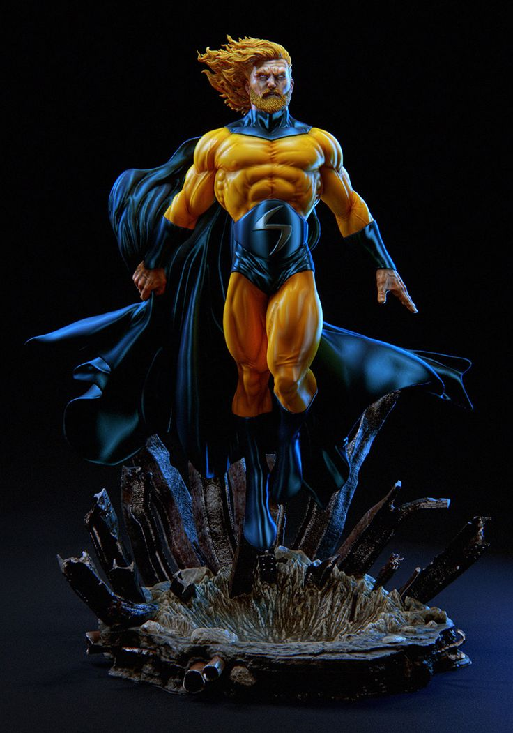 Marvel Sentry_Figure for 3D Print By Daniel Bel