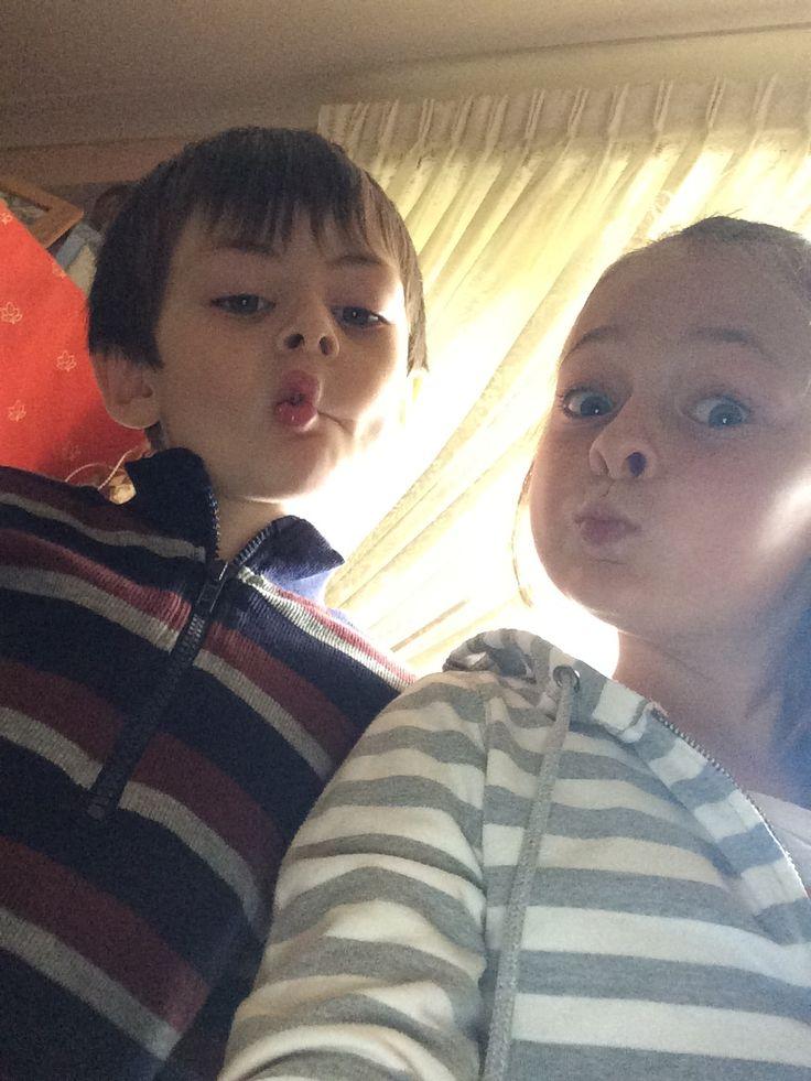 My favourite selfie of the day hahahahahahahahahahahahahHaha ❤️❤️❤️ From my brother