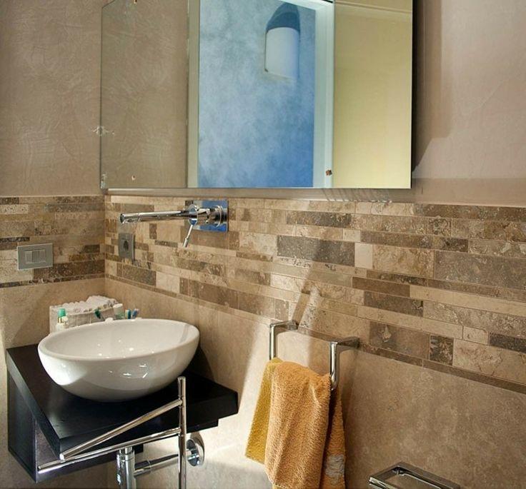 Les 25 meilleures id es concernant carrelage travertin sur for Salle bain travertin