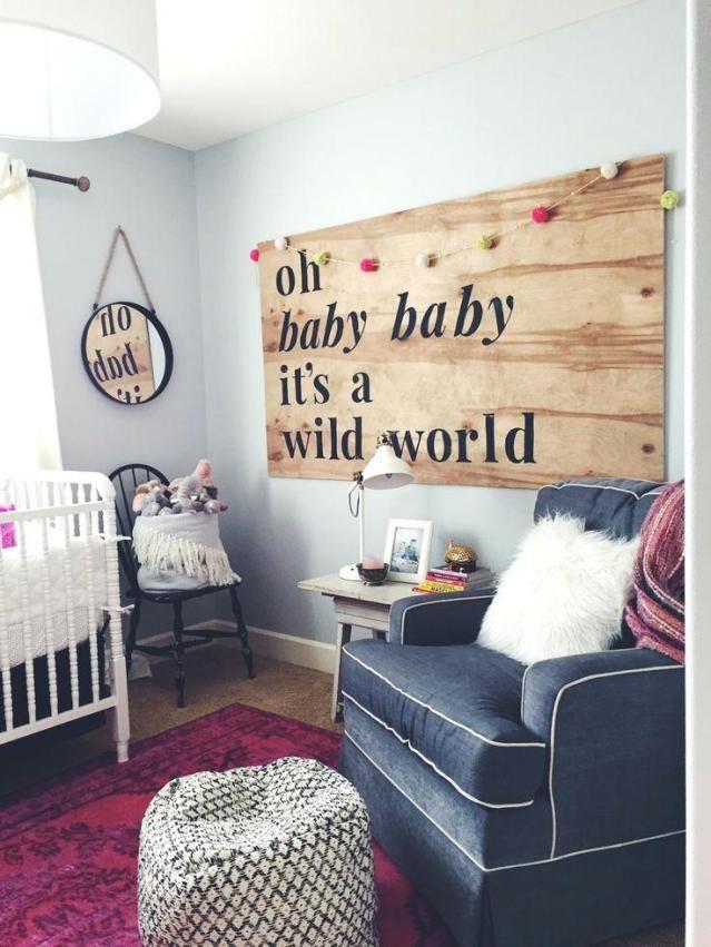 31 DIY Baby Boy Room Decor Ideas | Whimsical nursery, Baby ...