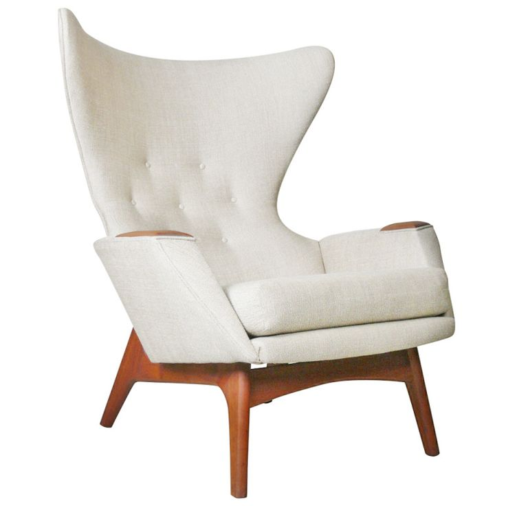 Charming Adrian Pearsall For Craft Associates Modern Wingback Chair Pictures Gallery