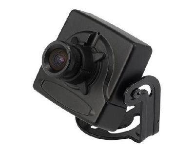 This is a tiny square case camera with the advanced CCD sensor that delivers 380 lines of resolution. The camera has a standard 3.6mm fixed lens.