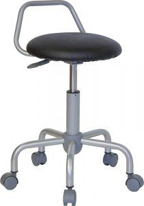 Luxury Pneumatic Stool with Wheels
