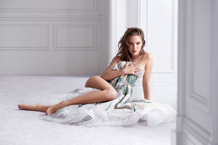 The actress debuts her new Miss Dior campaign, plus reveals how - under Maria Grazia Chiuri - the house celebrates women and femininity more than ever