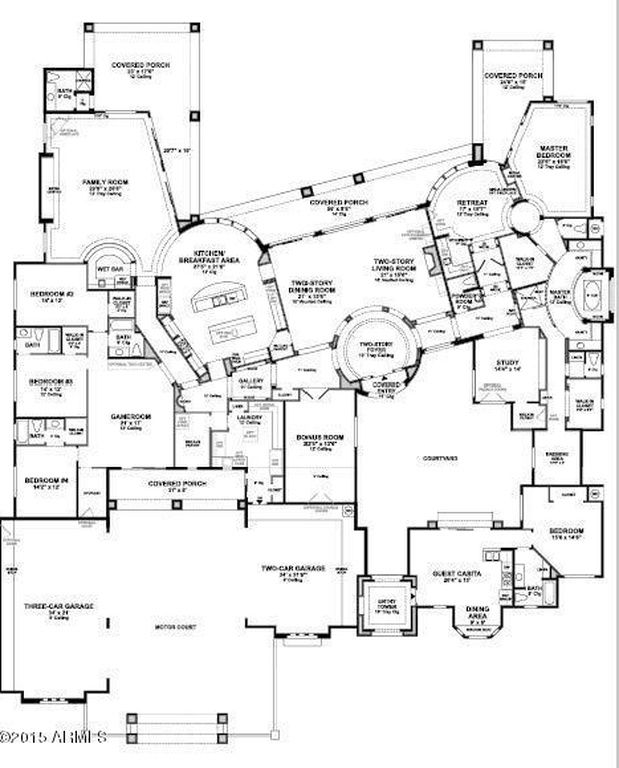 407 best home plans images on Pinterest House layouts Master
