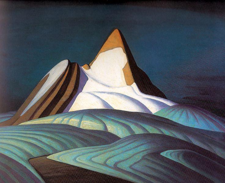 """Isolation Peak""  Lawren Harris, 1930"