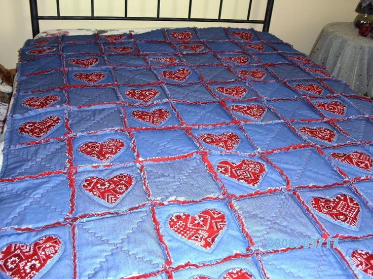 228 Best Rag Quilt Ideas Images On Pinterest Sewing