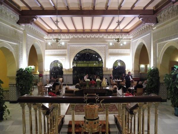 Alhambra Palace Hotel in Granada, Spain