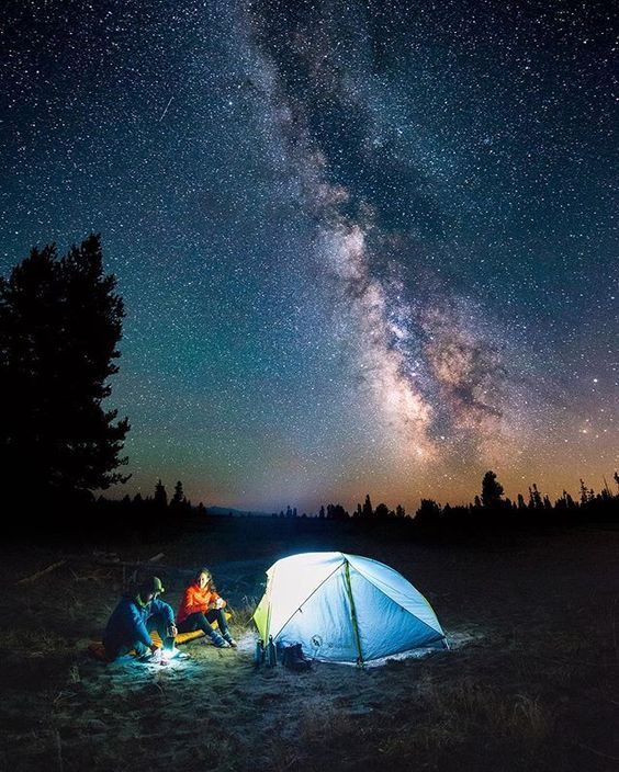 Happy campers☺️ Make sure you take a moment to appreciate the sky tonight! The last super moon for decades is rising, along with the start of the Geminid meteor shower! Snap by @travisburkephotography from a summer time 20 mile backpacking trip in Wyoming.⛺️ - @optcorp @keen @