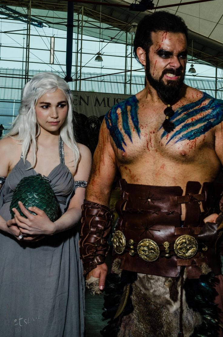 2014 San Diego Comic-Con Cosplay - Drogo and Daenerys, Game of Thrones