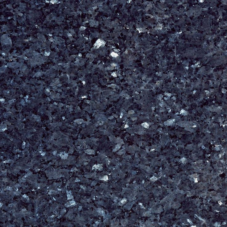 Granite With Large Flecks Of Dark And Light Blue White
