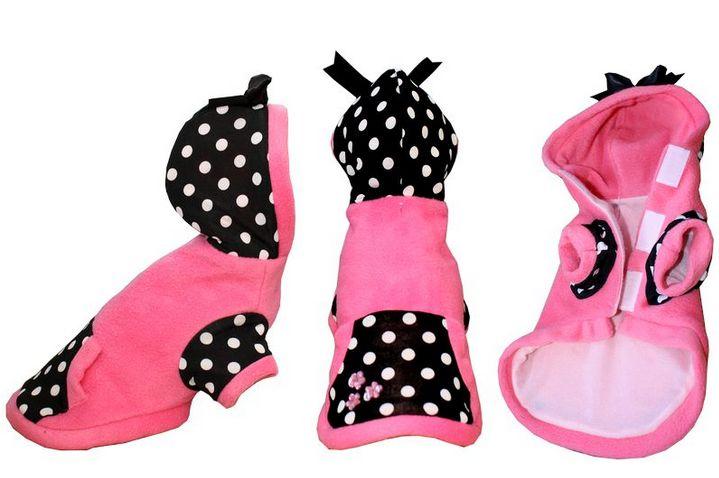 Abrigo Pink-Dots ;) Tallas 00 hasta 5