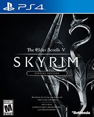 Winner of more than 200 Game of the Year Awards, Skyrim Special Edition brings the epic fantasy to life in stunning detail. The Special Edition includes the critically acclaimed game and add-ons with all-new features like remastered art and effects, volumetric god rays, dynamic depth of field, screen-space reflections, and more.